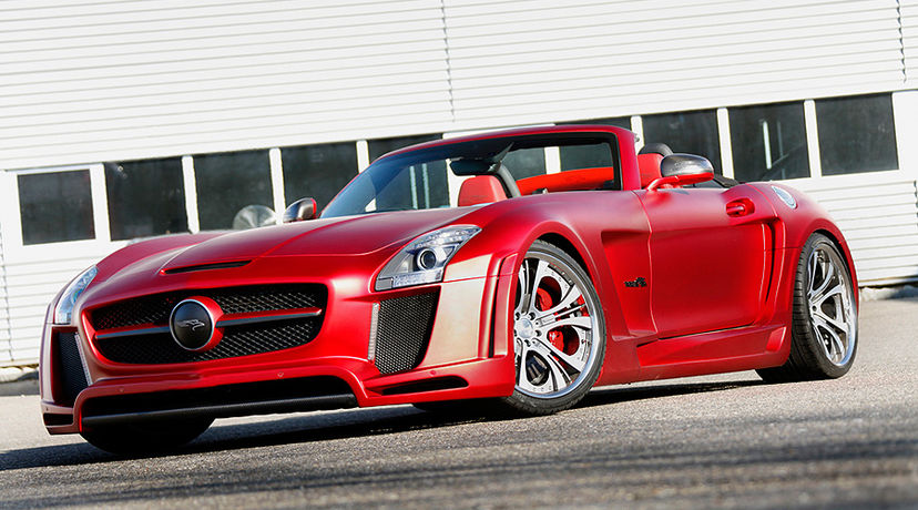 FAB Design SLS Roadster Body Kit