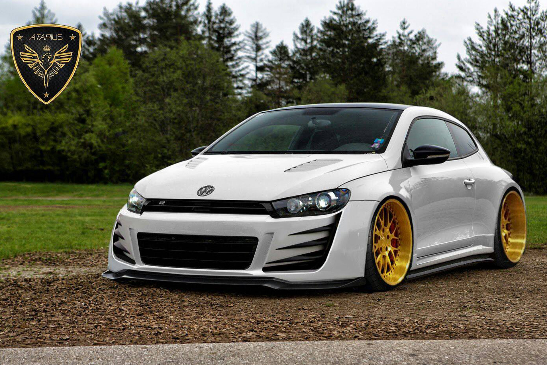 atarius concept volkswagen scirocco azor body kit. Black Bedroom Furniture Sets. Home Design Ideas