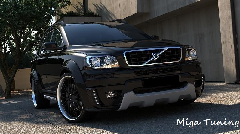 miga tuning volvo xc90 body kit. Black Bedroom Furniture Sets. Home Design Ideas
