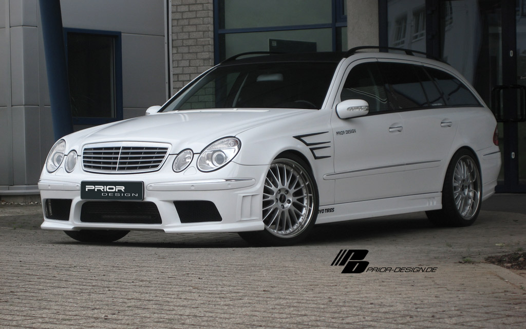 prior design mercedes  class bodykit autostyleznet