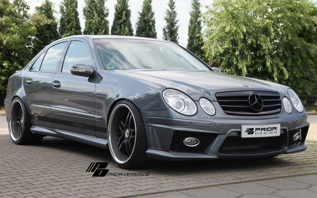 prior design pd mercedes  class bodykit autostyleznet
