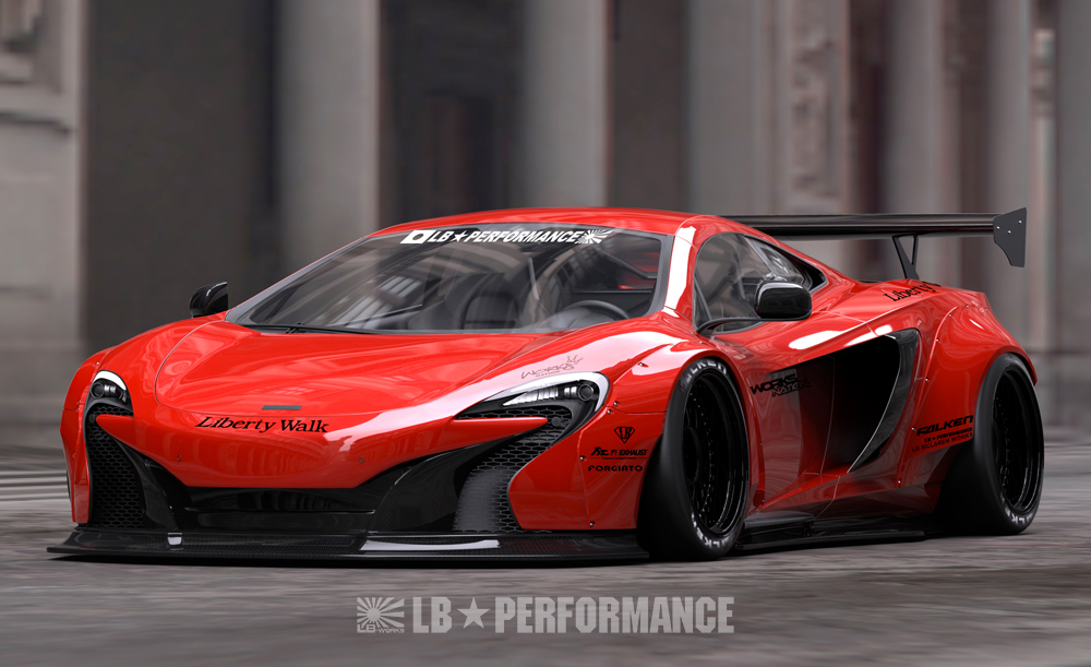 Liberty Walk Mclaren 650s Body Kit Autostylez Net