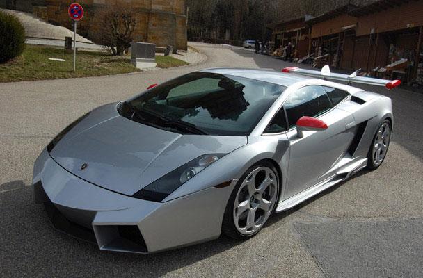 CDC International Lamborghini Gallardo Reventon Body Kit Front