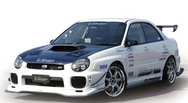 varis subaru impreza bugeye body kit. Black Bedroom Furniture Sets. Home Design Ideas