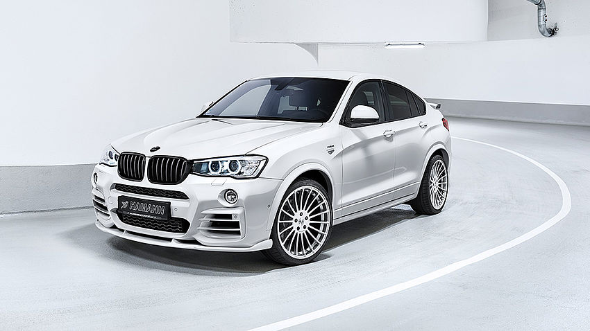 Hamann BMW X4 Body Kit Front