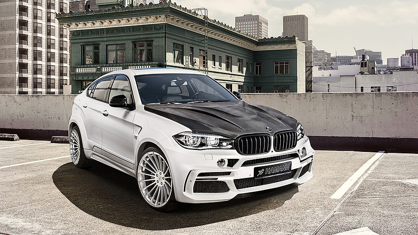 Hamann BMW X6 F16 Body Kit Front