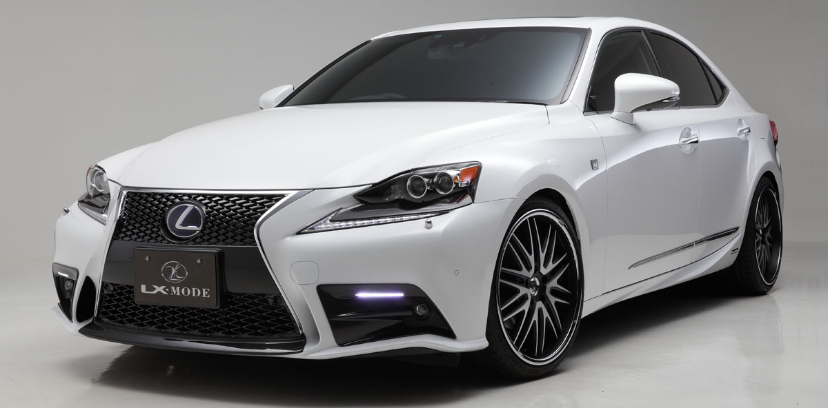 lx mode lexus is f xe30 facelift bodykit. Black Bedroom Furniture Sets. Home Design Ideas